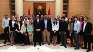 Turkey CAP Students at the Turkish Embassy in DC